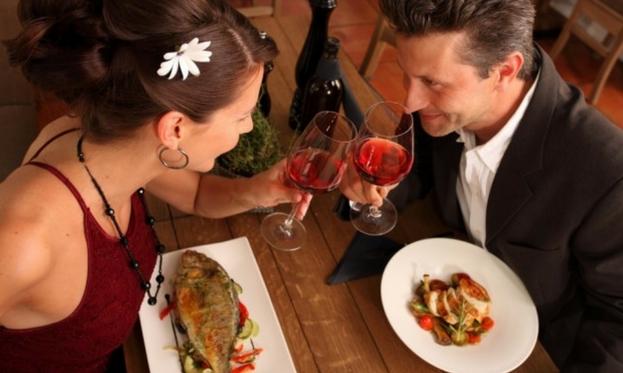 pesce e vino rosso