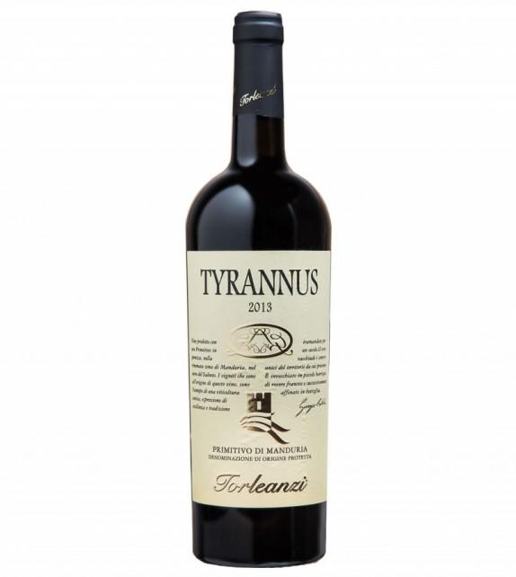 "Puglia Primitivo DOP ""Tyrannus"" 2013 - Torleanzi"